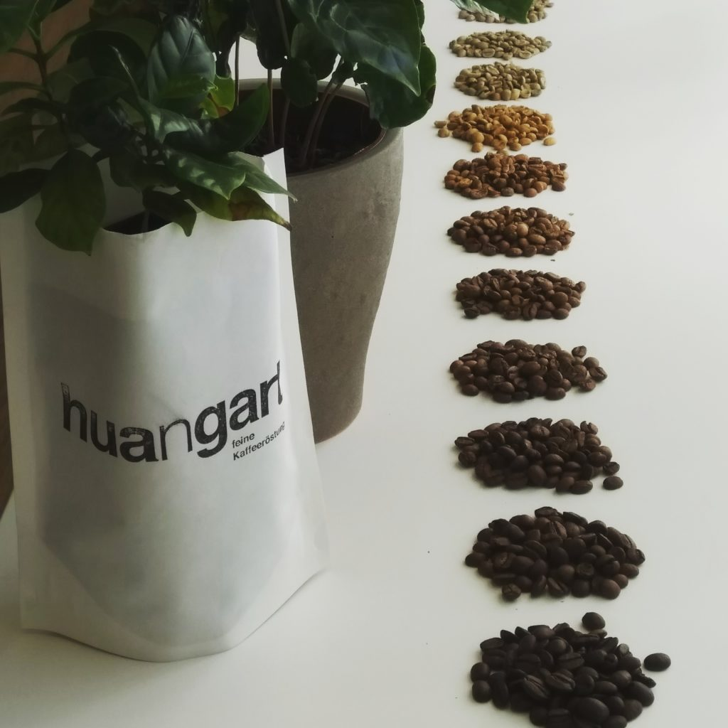 huangart feine Kaffeeröstung Kaffee Workshop